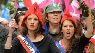 تظاهرات پاریس