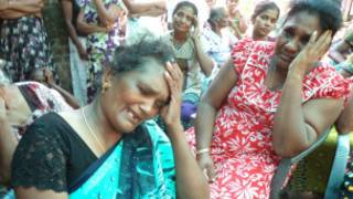 Nagendran Kanthimathy's mother and reltives at the funeral
