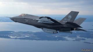 洛克希德·马丁公司设计制造的F35联合攻击机