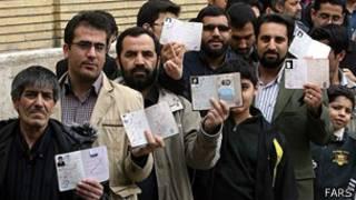 رأی دهندگان ایرانی