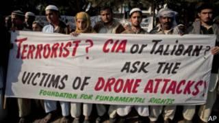 تظاهرات علیه هواپیماهای بدون سرنشین