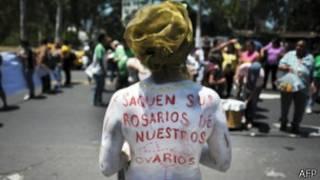 Защитницы права на аборт