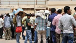 Pekerja di Saudi
