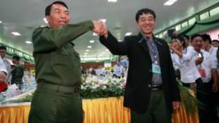 General Myint Soe and Major GeneralGun Maw