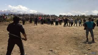 """Беспорядки на киргизском руднике """"Кумтор"""""""