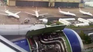 Вынужденная посадка Airbus A319
