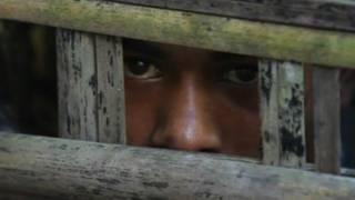 Niño rohingya en Birmania
