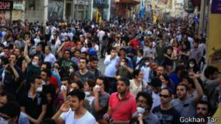 Gezi Parkı protestoları 4. gününde