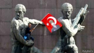 В ходе протестов в Анкаре