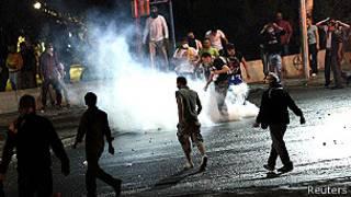 В ходе протестов в Стамбуле