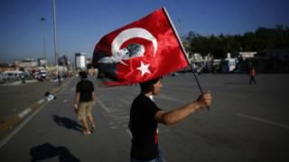 هدوء في شوارع تركيا