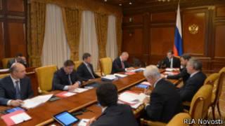 Заседание российского кабинета министров