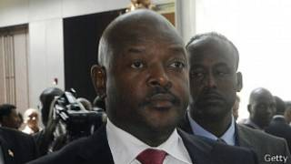 Presidente de Burundi, Pierre Nkurunziza