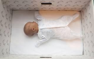 Bebê na caixa | Foto: Milla Kontkanen