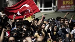 Biểu tình ở Istanbul