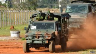 Unidade contraterrorista do Exército (foto: Valter Campanato/ABr)