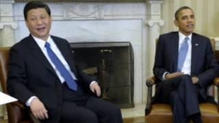 Çin lideri Cinping ve ABD Başkanı Obama