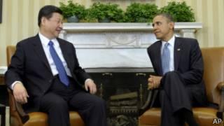 اوباما و شی جین پینگ