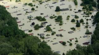 حالة الفيضانات في ولاية بافاريا