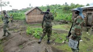 Abasirikare ba M23 i Mutaho, 15 Km uvuye Goma