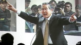 Альберто Фухимори на суде