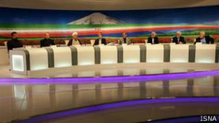 مناظره انتخاباتی - عکس از ایسنا