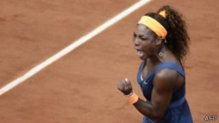Серена Уильямс во второй раз победила на Ролан Гаррос