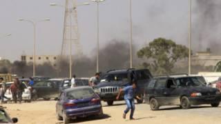 Wandamanaji mjini Benghaz