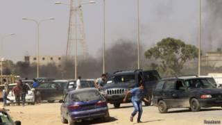 اشتباكات في بنغازي