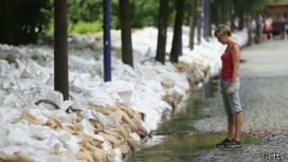 Наводнение в Магдебурге