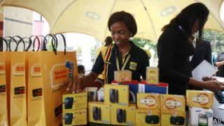 Venda de celular na NIgéria (Foto AFP)