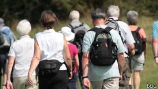 Британские любители ходьбы