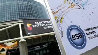 Entrada a la convención E3