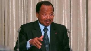 Shugaban kasar Kamaru Paul Biya