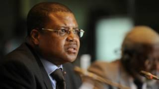 Pira Ministan Jamhuriyar Afirka ta Tsakiya Nicolas Tiangaye