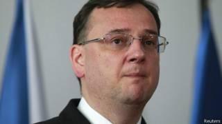 رئيس الوزراء التشيكي بيتر نيكاس