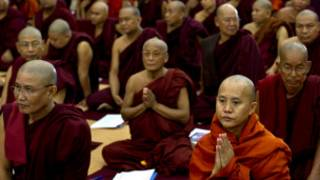 Monks conference in Burma