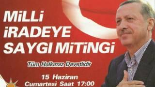 Başbakan Tayyip Erdoğan, Sincan'da halka seslenecek
