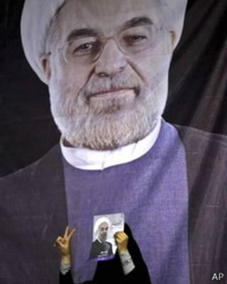 Избранный президент Ирана Хасан Роухани