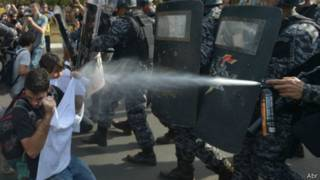 Protesto em Brasília | Foto: Agência Brasil