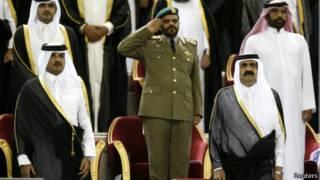 أمير قطر وولي العهد