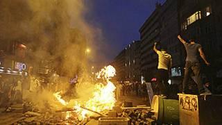 احتجاجات تركيا
