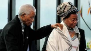 Nelson Mandela n'umugore we Graca Machel
