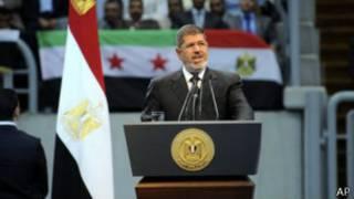 الرئيس المصري، محمد مرسي