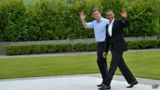 На открытии саммита Большой Восьмерки