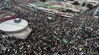 демонстрация в Сан-Паулу