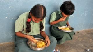 Crianças com fome | Foto: Getty