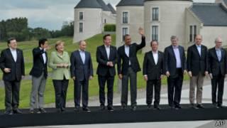 Лидеры стран G8