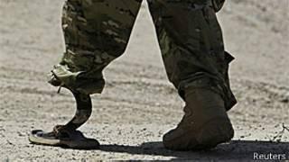 Soldado da Otan em Cabul, Afeganistão (Reuters)
