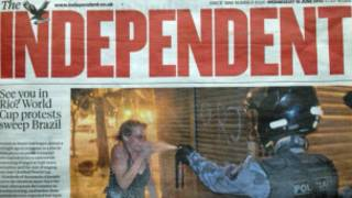 capa do Independent